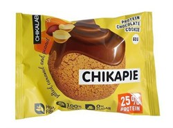Протеиновое печенье глазированное Chikalab Арахис, 60г - фото 10077