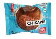 Протеиновое печенье глазированное Chikalab Шоколад с начинкой, 60г