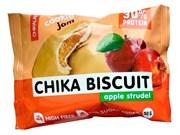 Бисквитное печенье Chikalab Бисквит яблочный штрудель, 50г