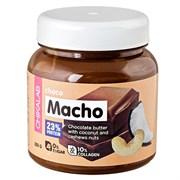 Паста Chikalab CHOCO MACHO Шоколадная паста с кокосом и кешью, 250г