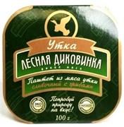 Паштет Лесная Диковинка из мяса утки сливочный с грибами, 100г