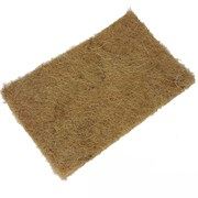 Джутовый коврик для выращивания микрозелени 16*9см