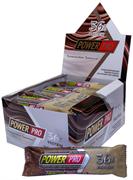 Батончик мультибелковый глазированный со вкусом мокачино Power Pro, упаковка 20 штук