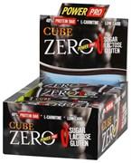 Батончик ZERO CUBE, 40% белка без сахара «ШОКОЛАД», 20 штук