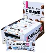 Протеиновый батончик Chikalab Кокос с шоколадной начинкой, 20 штук