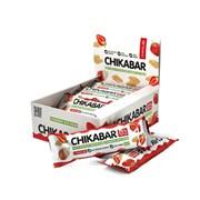 Протеиновый батончик Chikalab Клубника со сливками, 20 штук