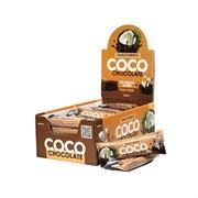 Батончик в шоколаде Snaq Fabriq - Шоколадный кокос, 30 штук