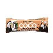 Батончик в шоколаде Snaq Fabriq - Шоколадный кокос, 40 г