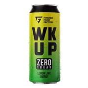 Тонизирующий безалкогольный напиток WK UP, 500 мл (Fitness Food Factory) лимон - лайм