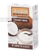 Густые кокосовые сливки CHAOKOH (20% жирности 80% мякоти кокоса), 250 мл