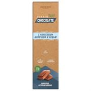 Шоколад VIRGIN с кокосовым молочком и кешью, 55г